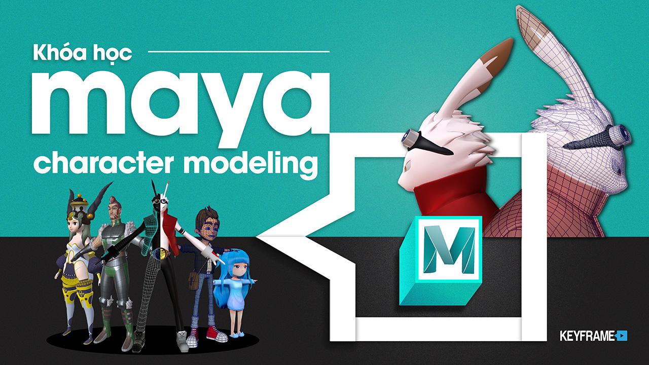 Khoá học Maya Character Modeling