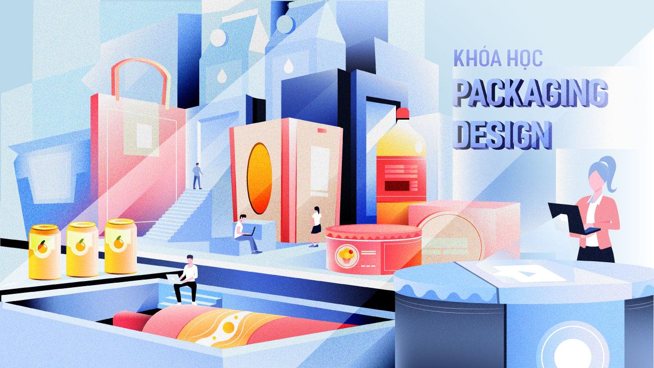 Khóa học Thiết Kế Bao Bì Packaging Design