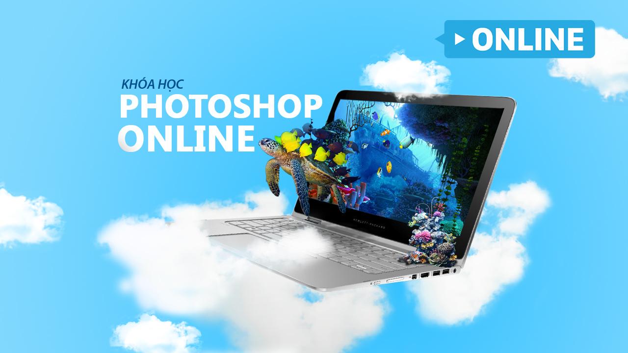 Khoá học Photoshop Cơ Bản Online