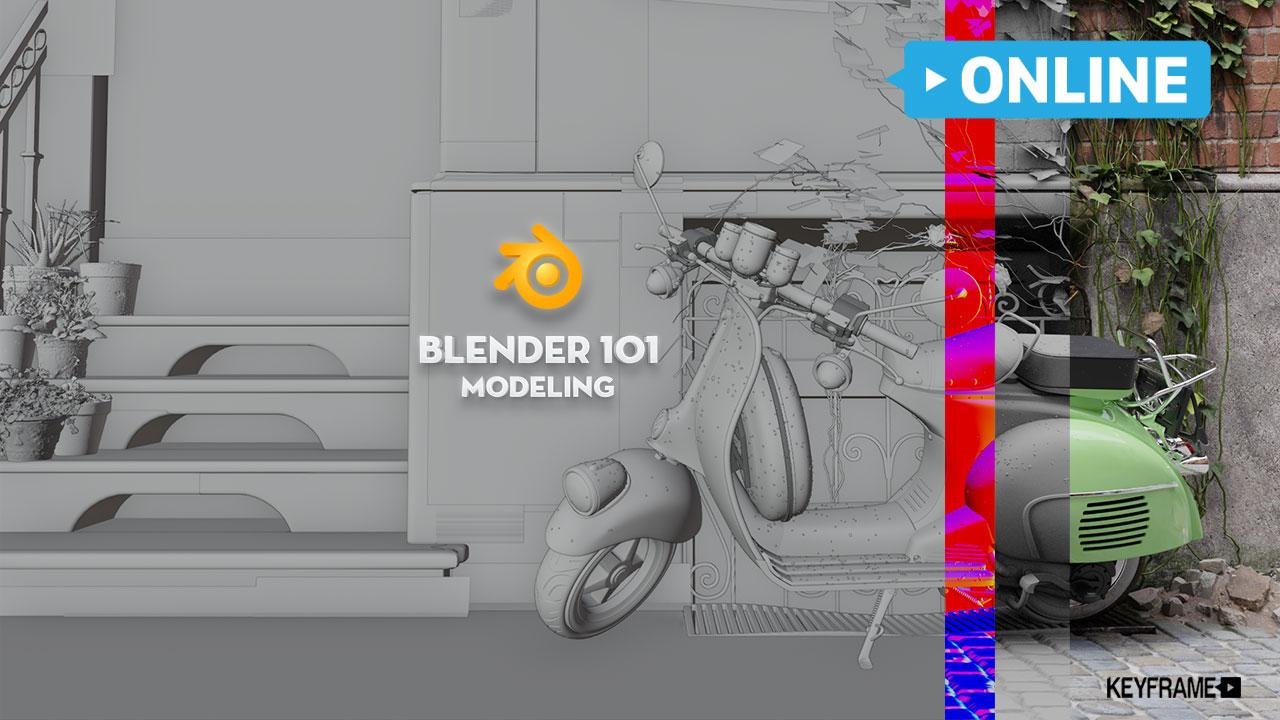 Khóa Học Modeling 101 Blender Online