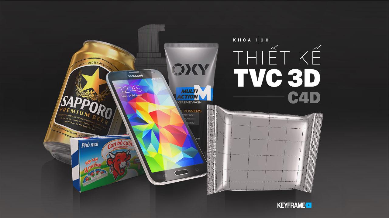 Khoá học thiết kế TVC 3D C4D