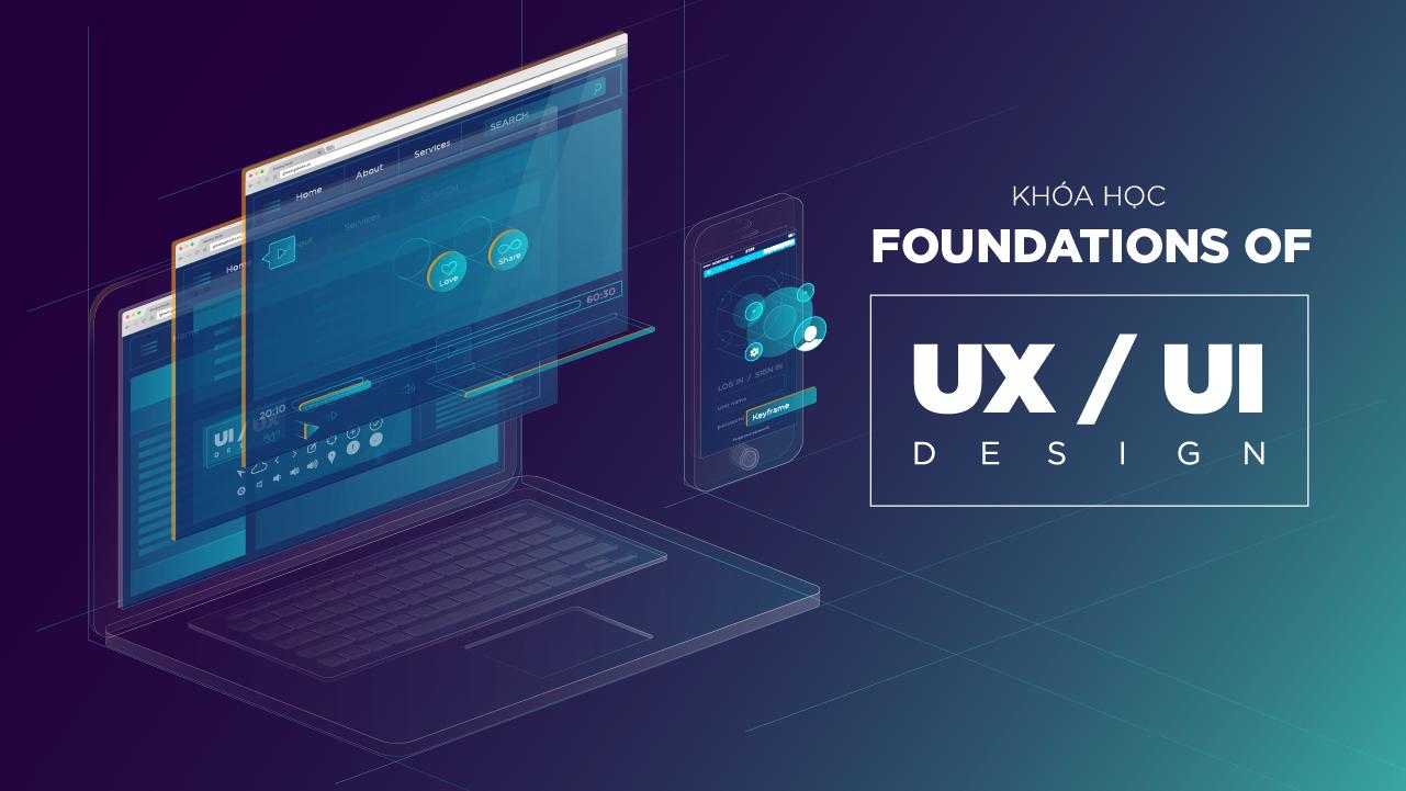 Khóa học Foundations of UX/UI Design